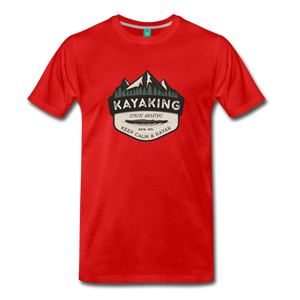 Men's Kayaking T-Shirt - red