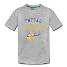 Load image into Gallery viewer, Toddler Future Fiddler T-Shirt - heather gray