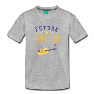 Toddler Future Fiddler T-Shirt - heather gray