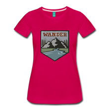 Load image into Gallery viewer, Women's Wander T-Shirt - dark pink