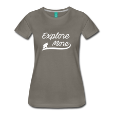 Load image into Gallery viewer, Women's Explore More T-Shirt - asphalt