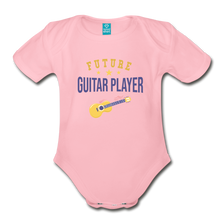 Load image into Gallery viewer, Future Guitar Player Baby Bodysuit - light pink