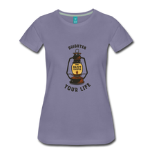 Load image into Gallery viewer, Women's Lantern T-Shirt - washed violet