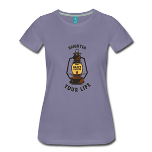 Women's Lantern T-Shirt - washed violet