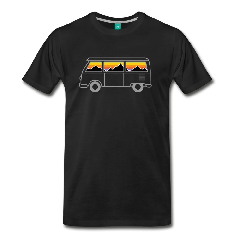 Men's Van Mountains T-Shirt - black