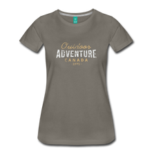 Load image into Gallery viewer, Women's Outdoor Adventure Canada T-Shirt - asphalt