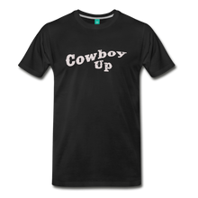 Load image into Gallery viewer, Men's Cowbou Up T-Shirt - black