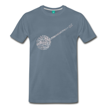 Load image into Gallery viewer, Men's In The Jailhouse Now T-Shirt - steel blue