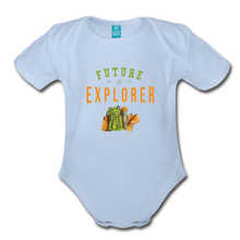 Load image into Gallery viewer, Future Explorer Baby Bodysuit - sky