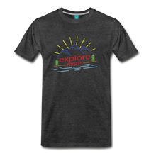 Load image into Gallery viewer, Men's Colored Explore More T-Shirt - charcoal gray