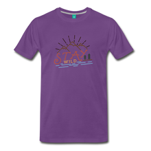 Load image into Gallery viewer, Men's Stay Wild T-Shirt - purple