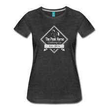 Load image into Gallery viewer, Women's The Peak Horse Diamond T-Shirt - charcoal gray