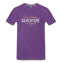 Load image into Gallery viewer, Men's Outdoor Adventure Canada T-Shirt - purple