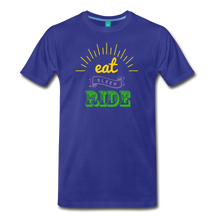 Load image into Gallery viewer, Men's Eat Sleep Ride T-Shirt - royal blue