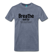 Load image into Gallery viewer, Men's Breathe T-Shirt - heather blue