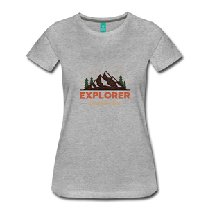 Women's Explorer - heather gray