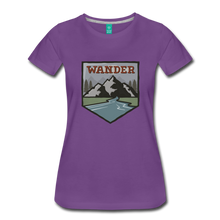 Load image into Gallery viewer, Women's Wander T-Shirt - purple