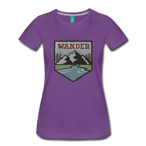 Women's Wander T-Shirt - purple