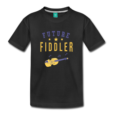 Load image into Gallery viewer, Toddler Future Fiddler T-Shirt - black