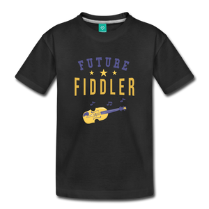 Toddler Future Fiddler T-Shirt - black