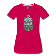 Load image into Gallery viewer, Women's Lost T-Shirt - dark pink