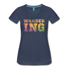 Load image into Gallery viewer, Women's Wandering T-Shirt - navy