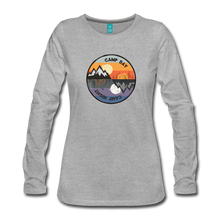 Load image into Gallery viewer, Women's Camp Day Long Sleeve Shirt - heather gray