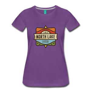 Women's North Lake T-Shirt - purple