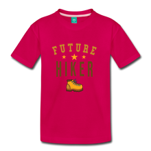 Load image into Gallery viewer, Kids' Future Hiker T-Shirt - dark pink