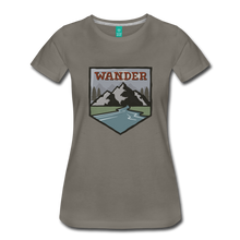 Load image into Gallery viewer, Women's Wander T-Shirt - asphalt