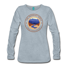 Load image into Gallery viewer, Women's The Pressley Girls Long Sleeve T-Shirt - heather ice blue