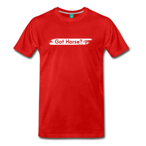 Men's Got Horse T-Shirt - red