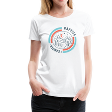 Load image into Gallery viewer, Women's Happier Camper T-Shirt - white