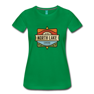 Women's North Lake T-Shirt - kelly green