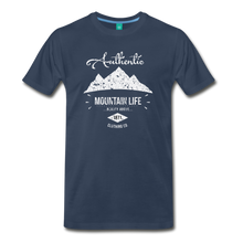 Load image into Gallery viewer, Men's Authentic Mountain Clothing Co. T-Shirt - navy