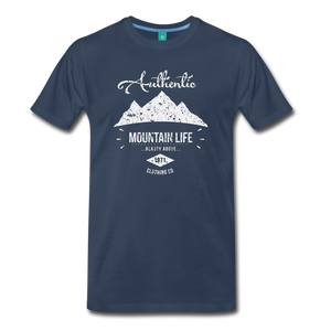 Men's Authentic Mountain Clothing Co. T-Shirt - navy