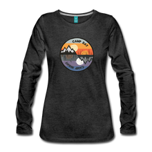 Load image into Gallery viewer, Women's Camp Day Long Sleeve Shirt - charcoal gray