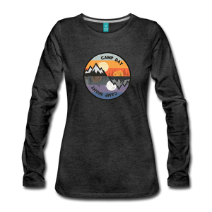 Women's Camp Day Long Sleeve Shirt - charcoal gray