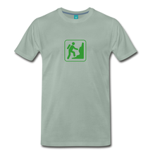 Load image into Gallery viewer, Men's Climb Icon T-Shirt - steel green