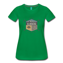Load image into Gallery viewer, Women's Climbing T-Shirt - kelly green