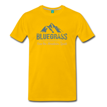 Load image into Gallery viewer, Men's Bluegrass Mountains Speak T-Shirt - sun yellow
