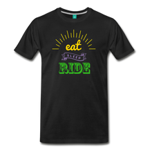 Load image into Gallery viewer, Men's Eat Sleep Ride T-Shirt - black