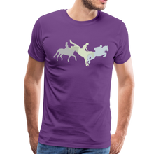 Load image into Gallery viewer, Men's Shadowed Eventing T-Shirt - purple