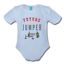 Load image into Gallery viewer, Future Jumper Baby Bodysuit - sky