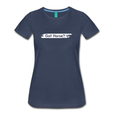 Load image into Gallery viewer, Women's Got Horse T-Shirt - navy