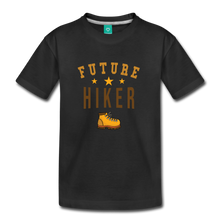 Load image into Gallery viewer, Toddler Future Hiker T-Shirt - black
