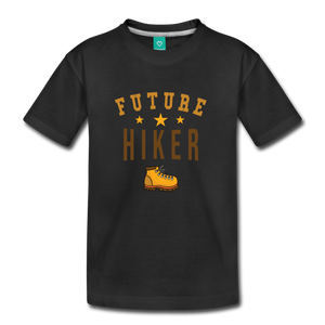Toddler Future Hiker T-Shirt - black