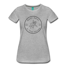 Load image into Gallery viewer, Women's Best Seat in the House T-Shirt - heather gray