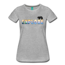 Load image into Gallery viewer, Women's Explore T-Shirt - heather gray