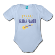 Load image into Gallery viewer, Future Guitar Player Baby Bodysuit - sky